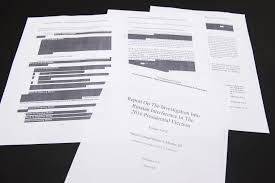 Mueller Report Cover Pic